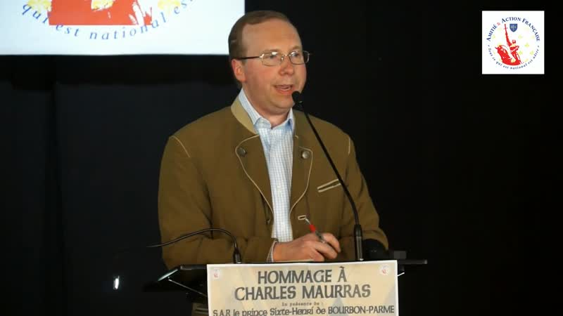 Hommage des 150 ans de la naissance de Charles Maurras - Alain Escada