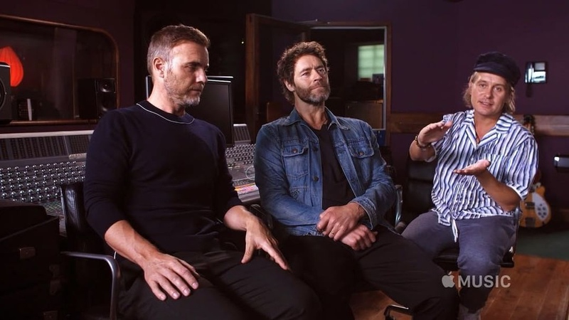 """Take That on Instagram: """"ONLY 7 days to go! Head over to @applemusic now to watch exclusive content for The Making of Odyssey Link in stories!"""""""