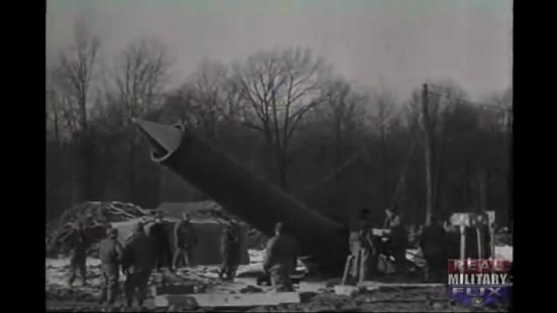 Экспериментальная мортира Little David. США. 1945