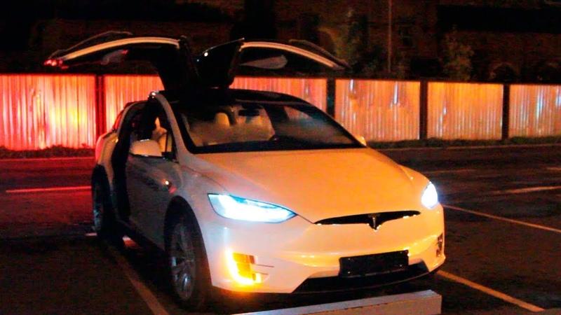 Tesla Model X P100D Тест-Драйв и Обзор вместе с Warpath