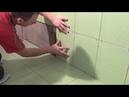Укладка плитки в ванной -15часть/Разметка и подрезка первого и последнего ряда