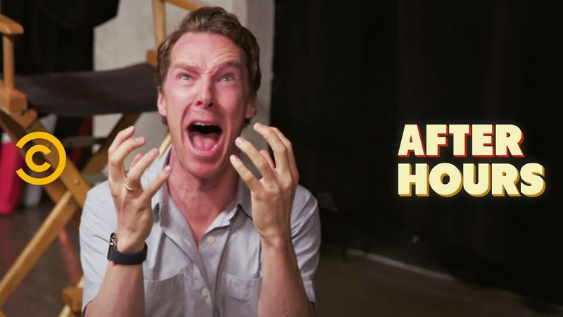 Benedict Cumberbatchs Unconventional Acting Class - After Hours with Josh Horowitz