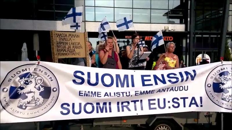 Suomi Ensin! - ITIS 3 - Naiset puhuvat - Helsinki, Itäkeskus 11.9. 2016