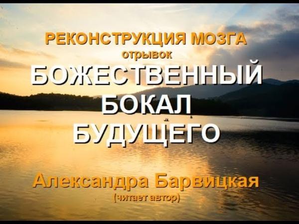 БОЖЕСТВЕННЫЙ БОКАЛ БУДУЩЕГО . РМ. (Александра Барвицкая-Женьшеневая Женщина)