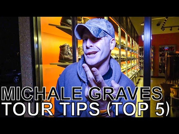Michale Graves (ex- Misfits) - TOUR TIPS (Top 5) Ep. 636