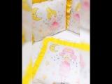 Дисней желто-розовый