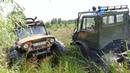 ГАЗ-66 спасает UNIMOG off road 4×4