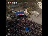 Концерт к 100-летию БНР с высоты