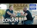 """Conan Interrogates The Star Of Fauda"""""""