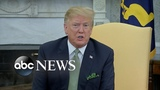 Trump responds to terror attacks in New Zealand signs first veto