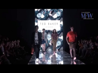 Ruslan for Ted Baker fashion show