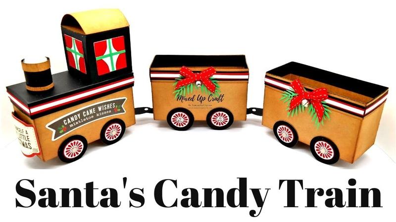 Santas Candy Train | DIY Train | Christmas Workshop 2018