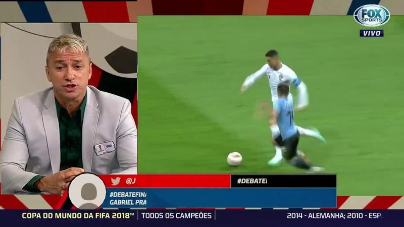 O cara é mais procurado que o Messi – Paulo Nunes falando sobre Paulinho durante o Mundial de 2018