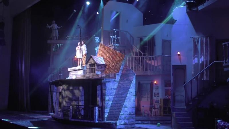 """Над городом - Мюзикл """"Баллада о маленьком сердце"""" (Миша Смирнов и Вероника Устимова)"""