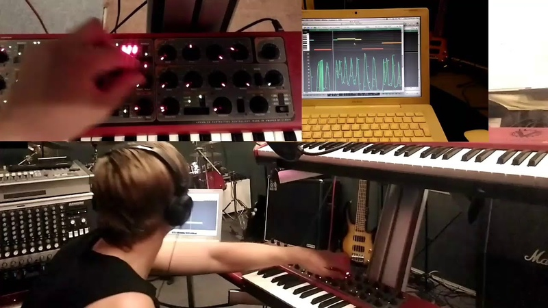 Clavia | Nordlead | Neurofunk bass line