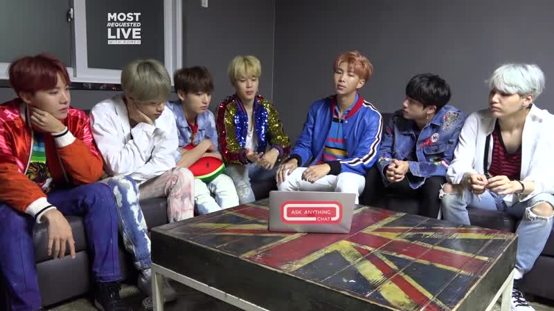 171014 BTS Talk About Texting, Shopping What They Would Steal From Each Other. Part 2