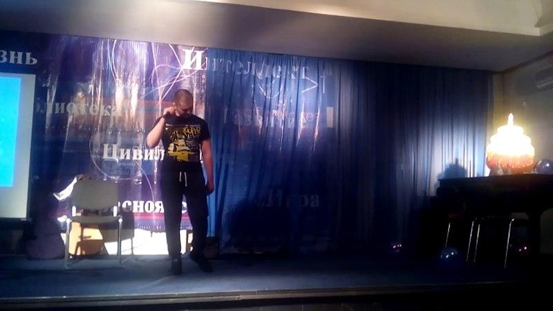 Андрей Баяндин Где то Ангелы Кричат Би 2 кавер Юбилей клуба ДЖЕМ Красноярск