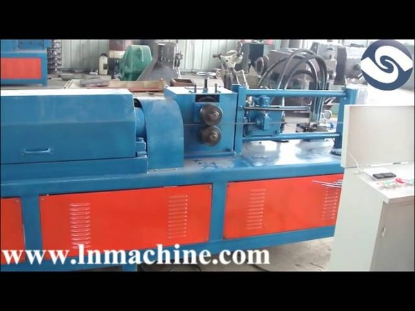 Steel wire straightening and cutting machine(4-12mm)