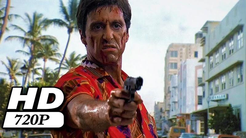 Scarface (1983) - Tony es salvado por sus amigos | Audio Latino 720p
