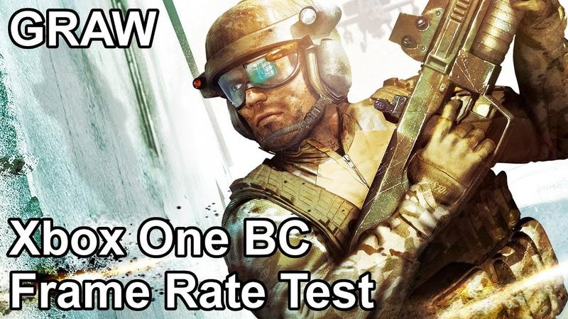 Ghost Recon Advanced Warfighter Xbox One/X vs Xbox 360 Backwards Compatibility Frame Rate Comparison