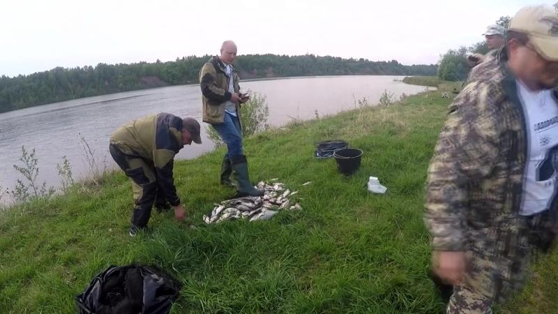 Рыбалка Волга Углич 17-19 мая 2018