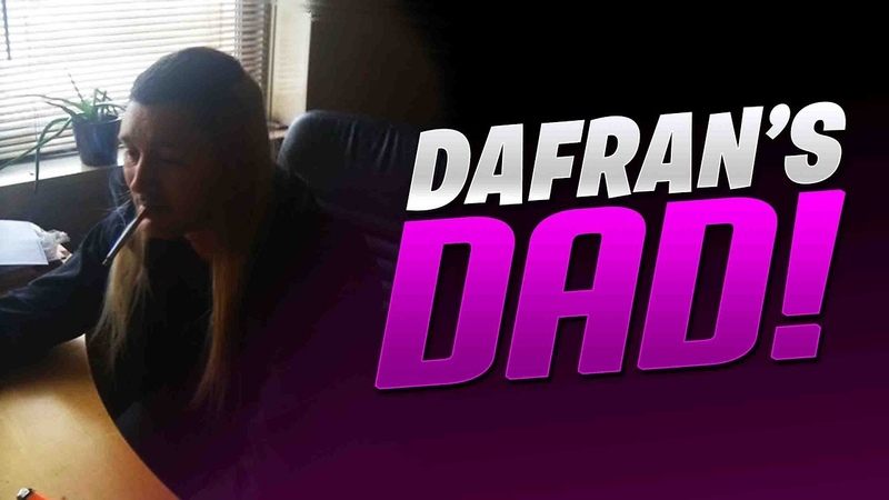 Dafrans Shows His Dad On Stream! - Dafran Stream Highlights 7