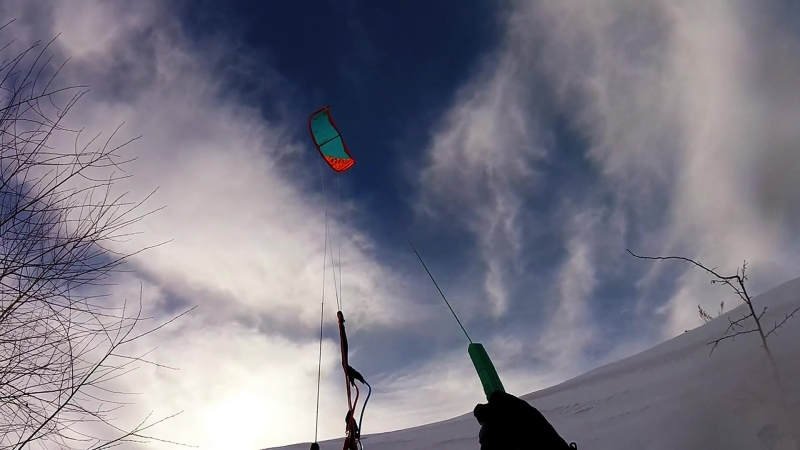 We love snowkiting march 2018