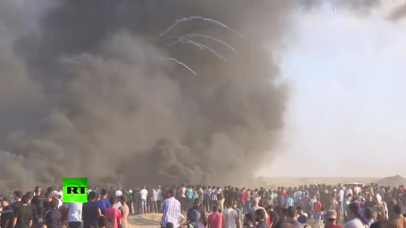 One of the deadliest Gaza protests in months- IDF reportedly leave 6 dead, 140 injured