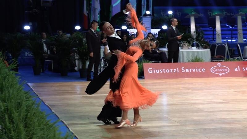 Francesco Galuppo - Debora Pacini ITA, Quickstep | WDSF GrandSlam Standard