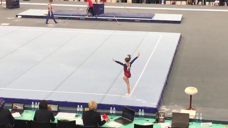 Zubova Varvara - RUS - CI - AGF TROPHY 2019 - BAKU