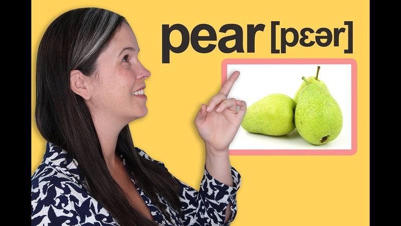 English Vocabulary – Words for Fruit! – American English Pronunciation | Rachel's English Vocabulary