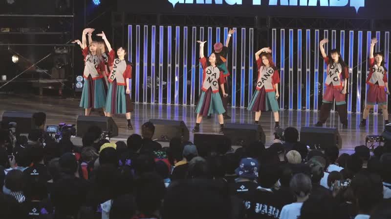 GANG PARADE 『PALET』「CHALLENGE the LIMIT TOUR」 At.大阪城野外音楽堂ダイジェスト 19/05/2019