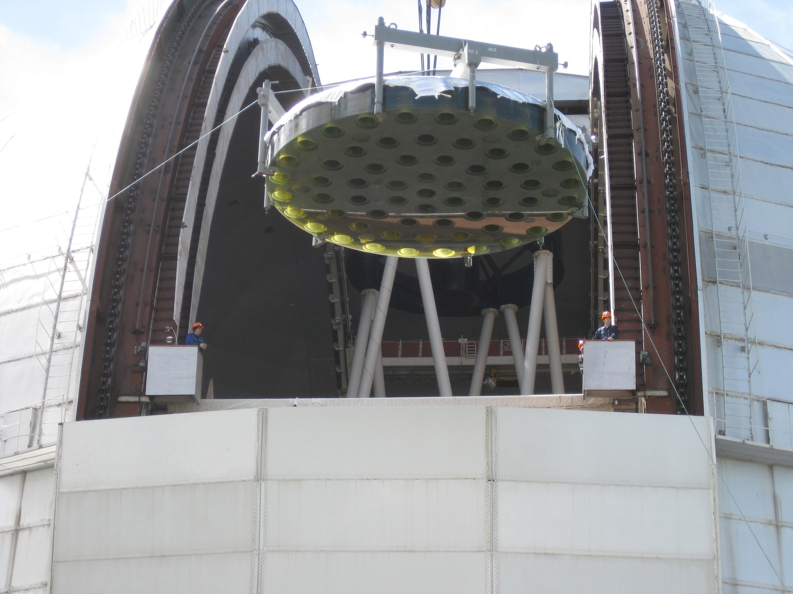 В Нижнем Архызе приступили к тестированию обновленного зеркала БТА