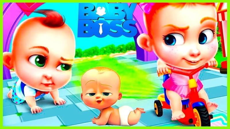 Patron Bebek Eğlence Peşinde çizgifilm Tadında Yeni Oyun