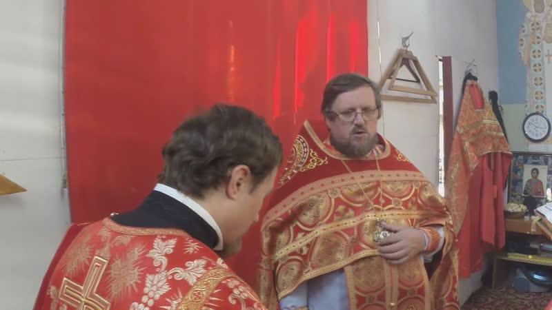 праздник мученика Уара в Свято-Троице- Георгиевском монастыре.
