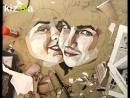 Портрет-коллаж из кусочков бумаги