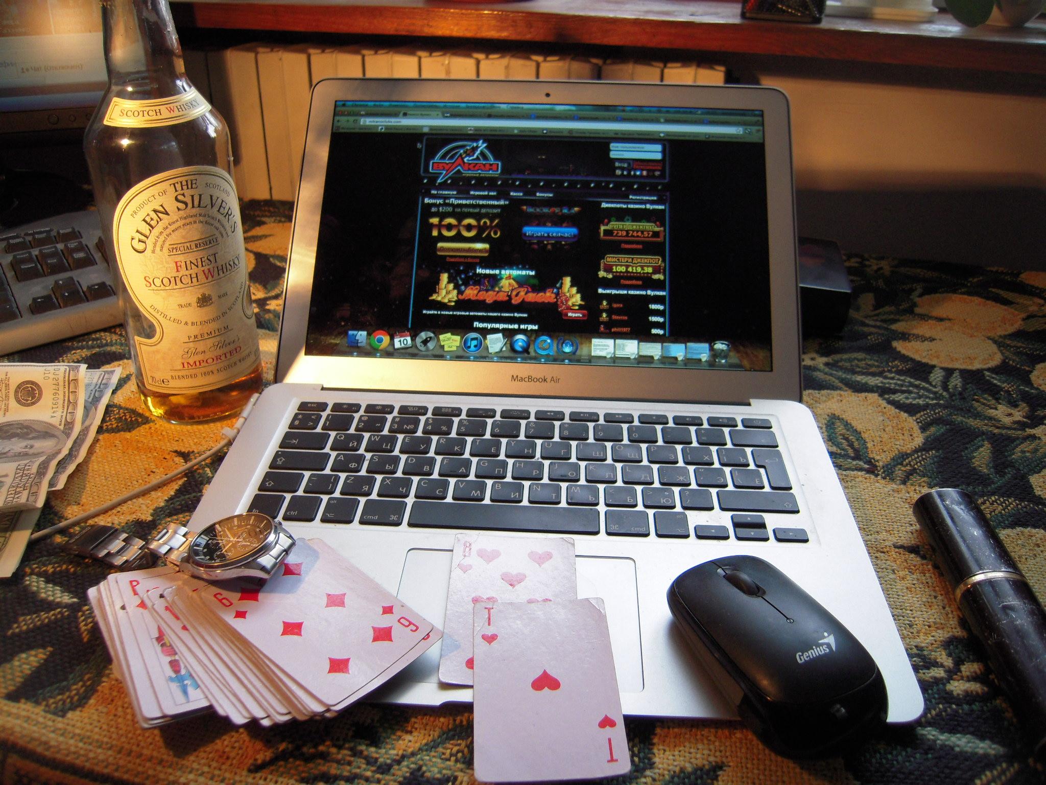 Методы депозита в казино