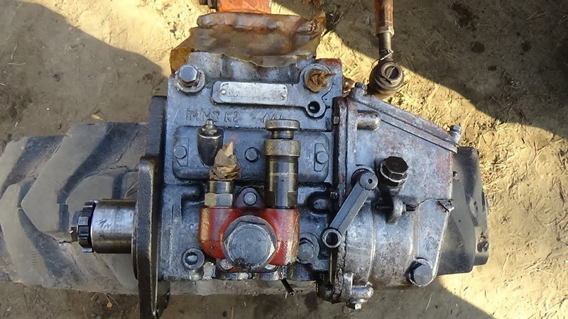 Ремонт трактора Т 40 АМ ч №12 отдали ТНВД в ремонт