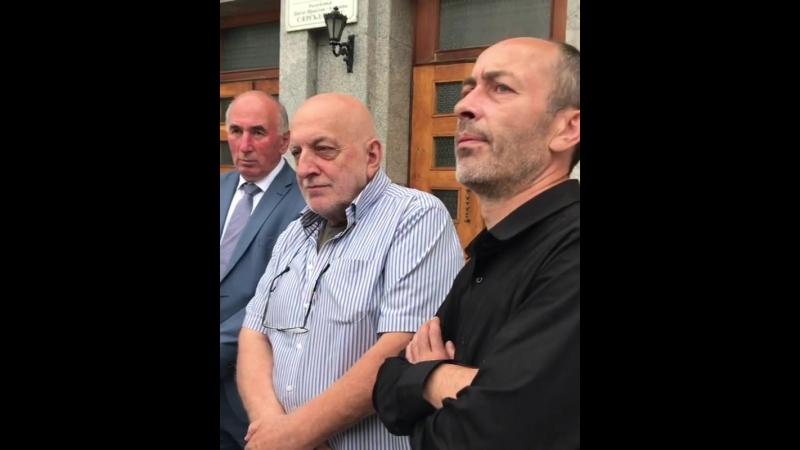 Арсен Фадзаев встретился с отцом Зелима Албегова и общественными защитниками