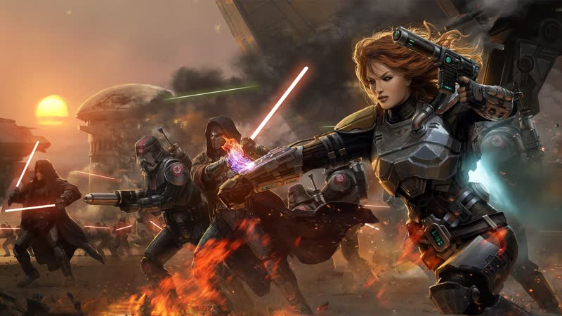 STAR WARS The Old Republic Knights of the Eternal Throne Betrayed Трейлер CGI видео 5