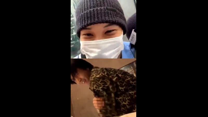 190518 EXO Kai Hotshot Timoteo VIXX Ravi Love Shot @ kaistagram live