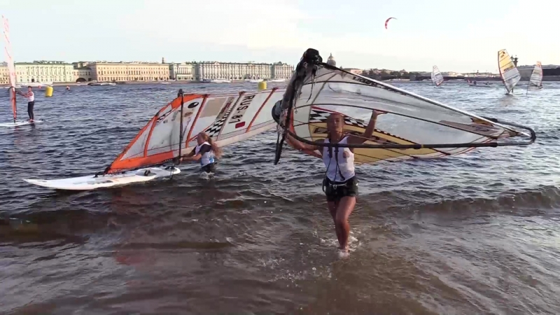 Триста лет под парусами: финал «Балтийской яхтенной недели» в Петербурге. ФАН-ТВ
