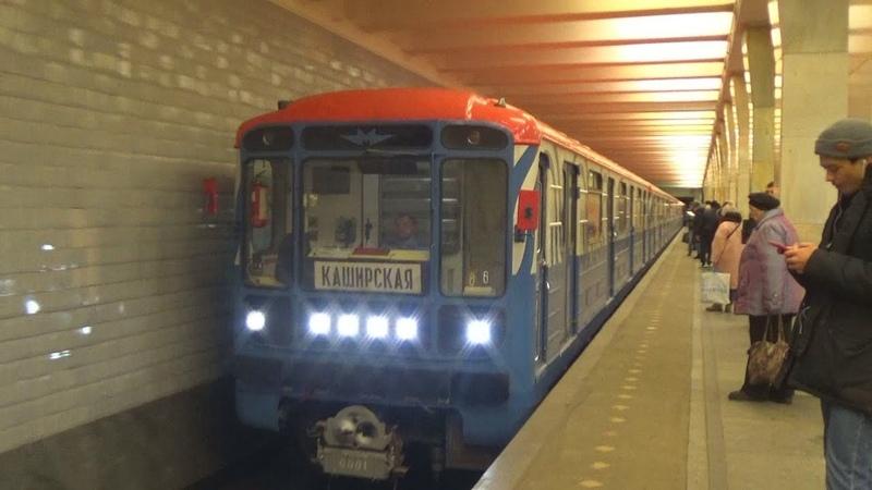 Первый брендовый окрас Номерного! Электропоезд 81-717/714 Московский Транспорт
