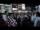 Как отпраздновали победу своей сборной болельщики Хорватии в Калининграде
