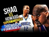 Shaquille O'Neal vs Dwight Howard SUPERMEN Duel 2010.02.21 - Who Is The Real SUPERMAN
