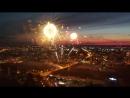 Салют 9 мая в Кемерово 2018 на День ПОБЕДЫ Аэросъемка фейерверк полная версия