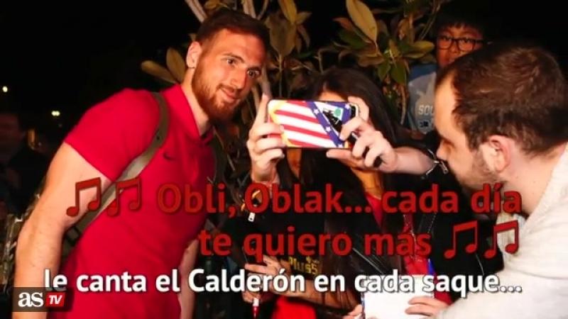 Atltico de Madrid Four Four Two Oblak es el mejor portero de mundo - AScom