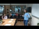 Девятиклассница Настя танцует рибонуклеиновую кислоту, фестиваль NAUKA 0