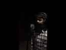 Работа над записью песни в студии звукозаписи Format rec