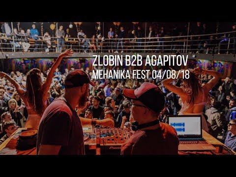 Zlobin B2B Agapitov @ Mehanika Fest 04/08/18